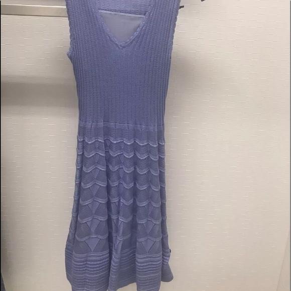 3368820923 NEW w tag Missoni lilac knit dress size 40. NWT
